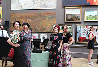 Gramophone DJs at Royal Academy of Arts
