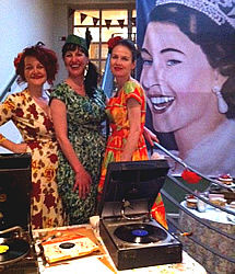 Gramophone DJs at a Queen's Diamond Jubilee Party